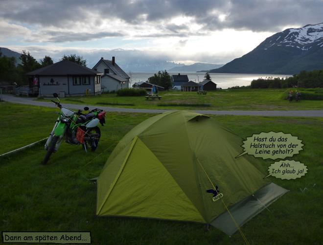 Abendstimmung am Fjord