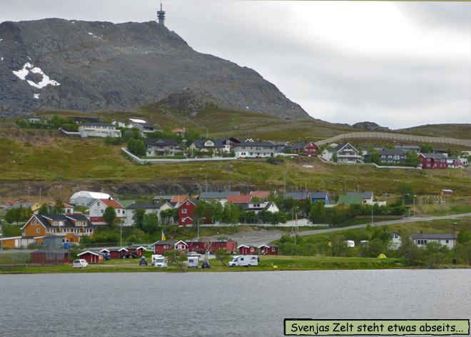Zeltplatz Camping Hammerfest