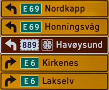 E69 Nordkapp E6 Kirkenes