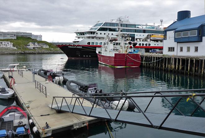Hafen Honningsvåg