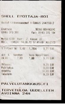 Tankstelle Rovaniemi