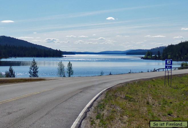 Finnland See und Wald