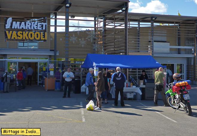 Supermarkt Finnland Ivalo