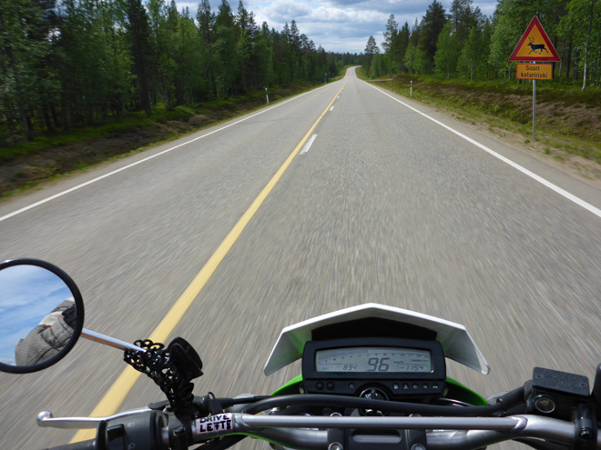Motorrad Finnland