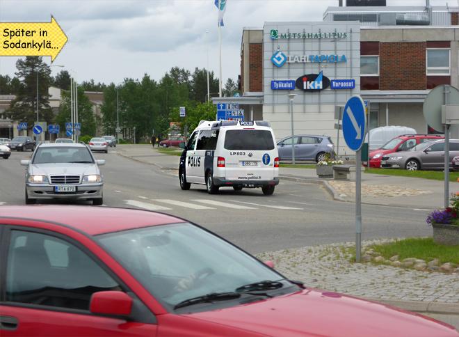 Rovaniemi Polizei Polis