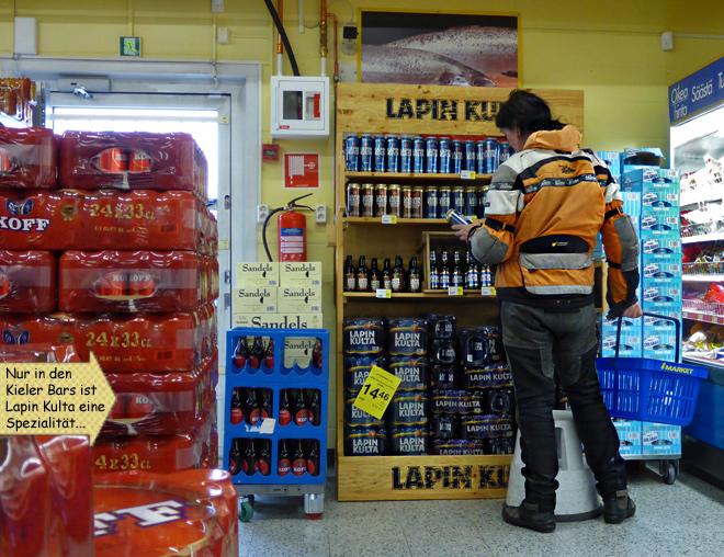 Lapin Kulta Bier Finnland