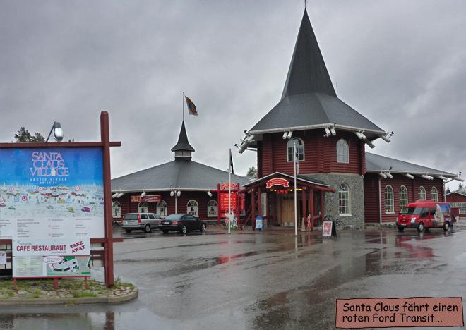 Santa Claus Village Weihnachtsmanndorf Rovaniemi Finnland