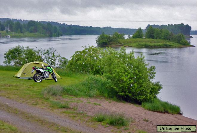 Leirintä Camping Finnland
