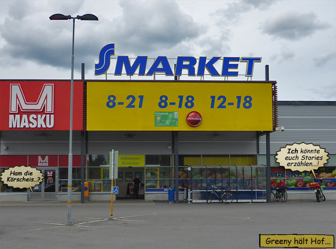 Finnland Sonntagsöffnung Supermarkt