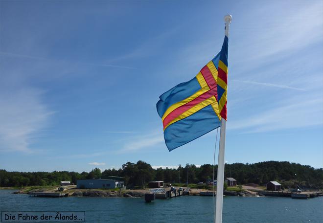 Åland Fahne Flagge