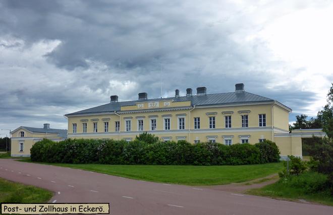 Post und Zollhaus Eckerö