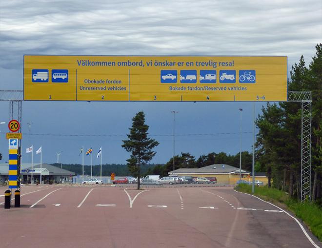 Eckerö Line Fähre Åland Inseln