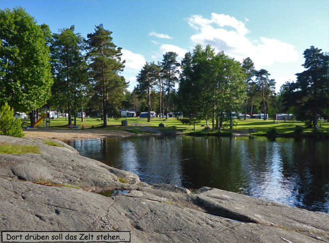 Schären Schweden Camping