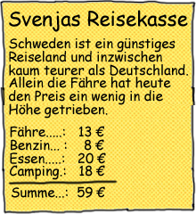 Reisekasse Schweden Endurowandern