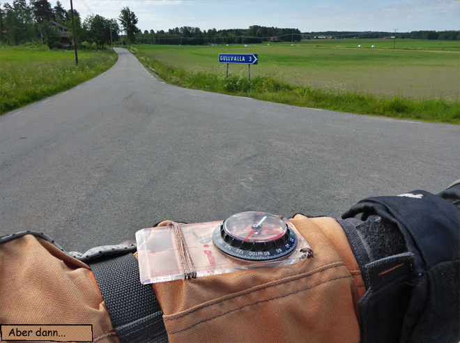 Motorrad Navigation Kompass