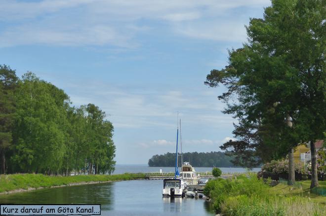 Göta Kanal Schweden