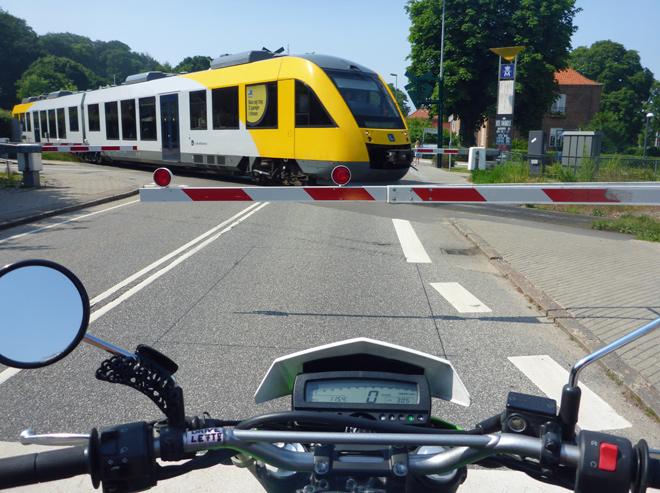 Motorradfahren Dänemark