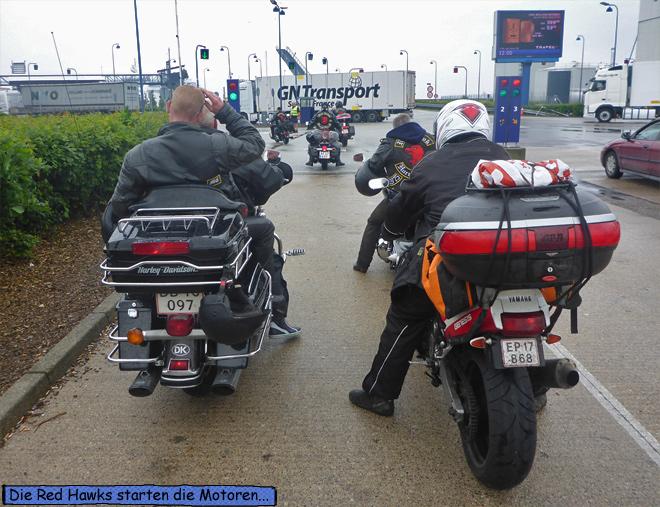 Rødby Puttgarden Fähre Motorräder