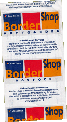 Border Shop Puttgarden
