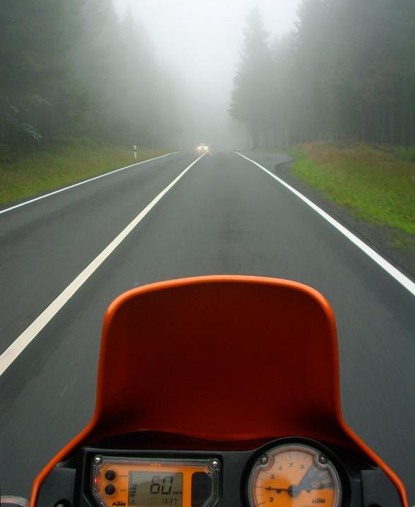 Fahrt im Nebel