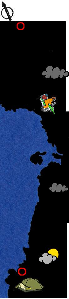 Route Norwegen