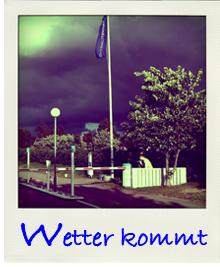 Gewitter in Daenemark