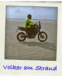 Volker am Strand