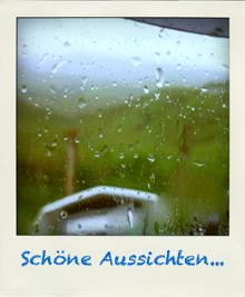 Visier bei Regen