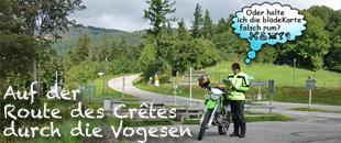 Motorradtour durch die Vogesen Frankreich