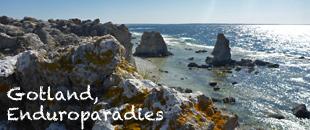 Gotland Schweden Endurowandern 2014