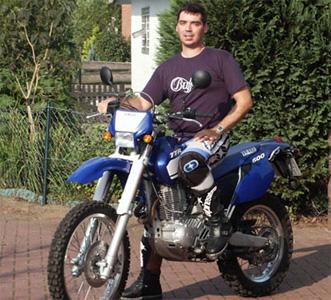 Sven auf Yamaha TTR