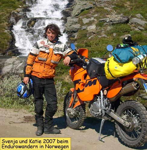 Svenduras KTM 640 Adventure zum Endurowandern