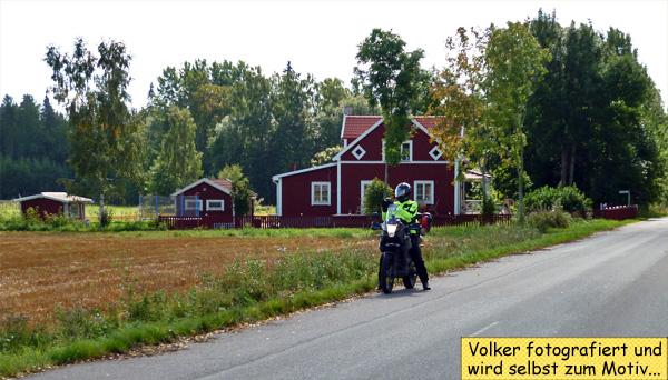 Motorradfahren in Schweden