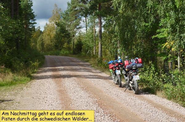 Enduro in Schweden