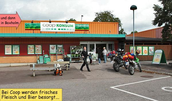 Coop Konsum Boxholm Schweden