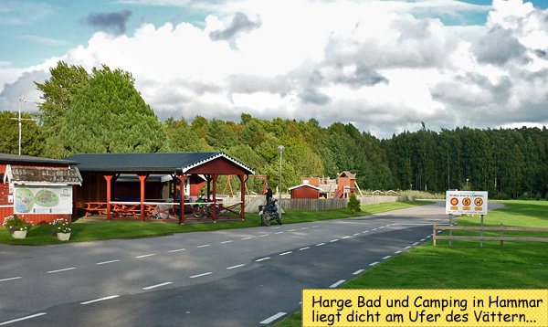 Harge Camping in Hammar