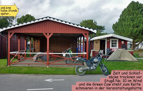 Stuga Vättern Harge Camping in Hammar