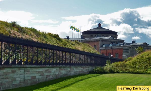 Festung Karlsborg Schweden