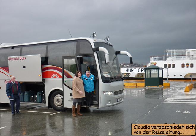 Trondheim Reisebus Hurtigruten
