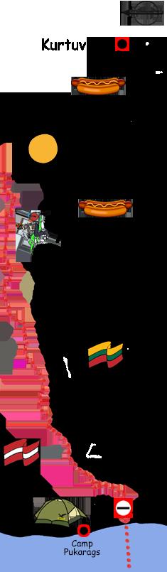 Motorradtour Litauen