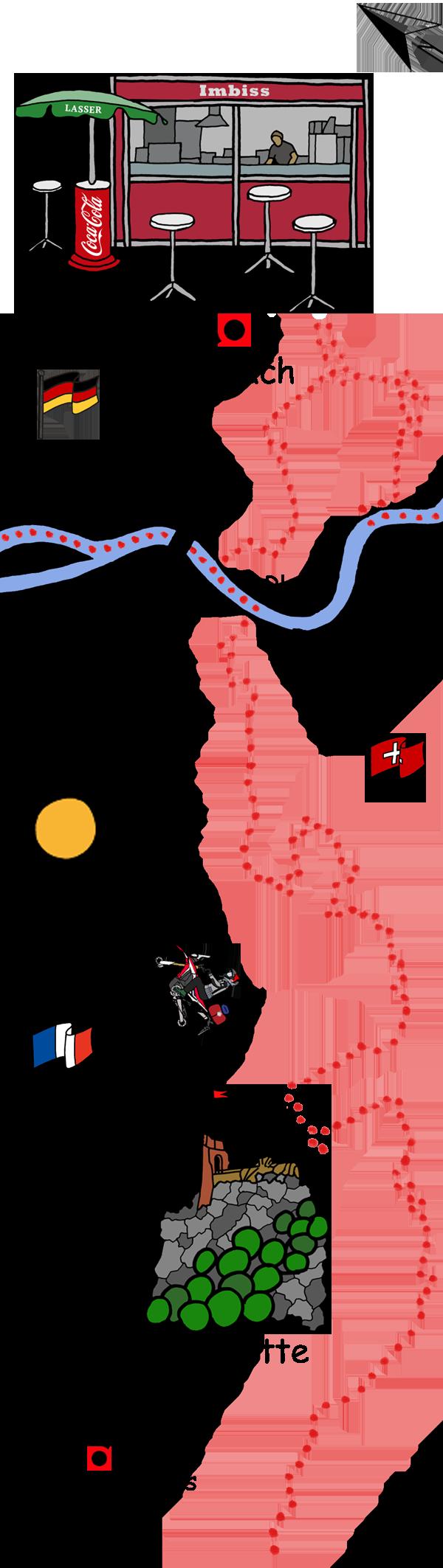 Motorradtour Perigord