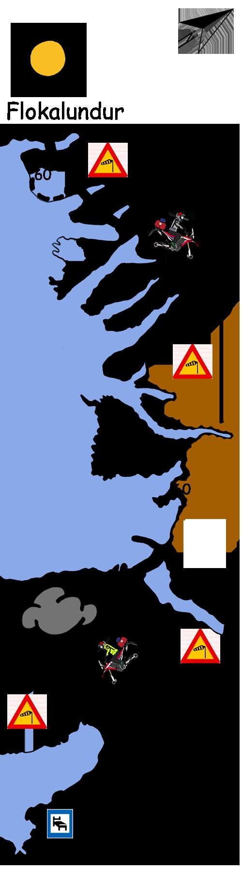 Motorradtour Island