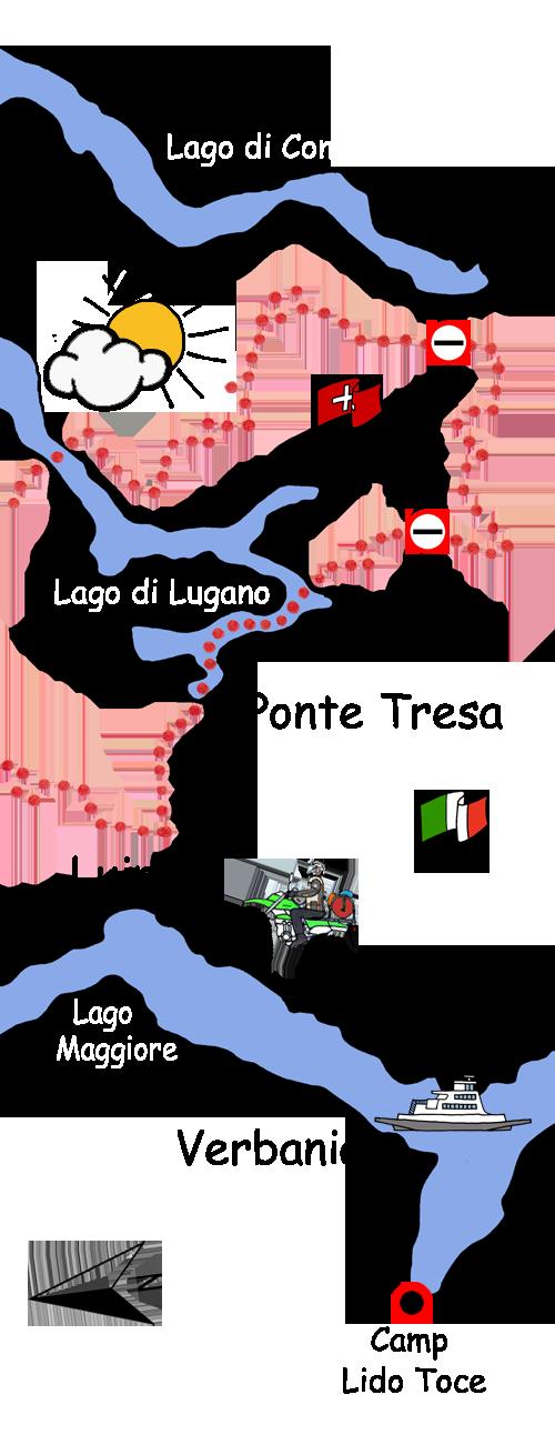 Motorradtour Italien