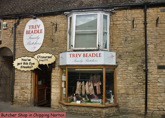 Trev Beadle Butcher Chipping Norton