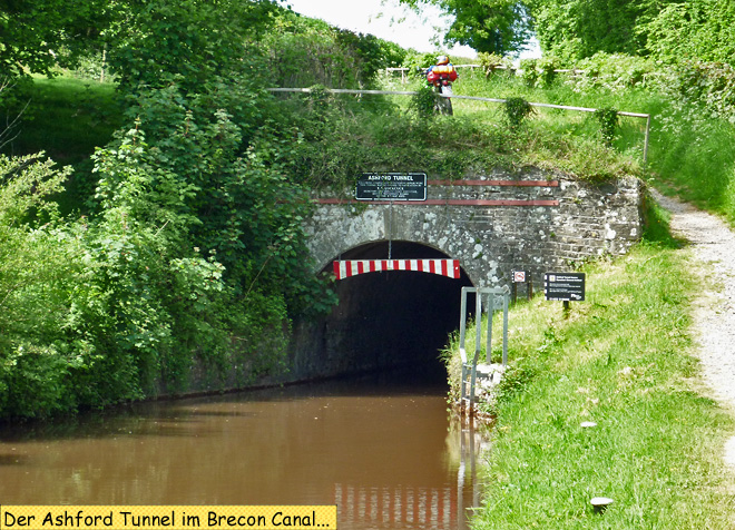 Ashford Tunnel Brecon Canal