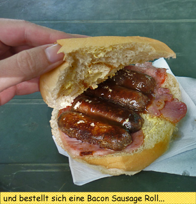 Bacon Sausage Roll