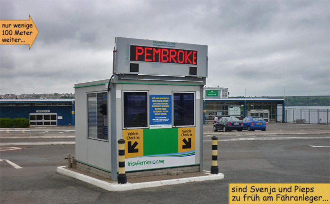 Pembroke Irishferries terminal