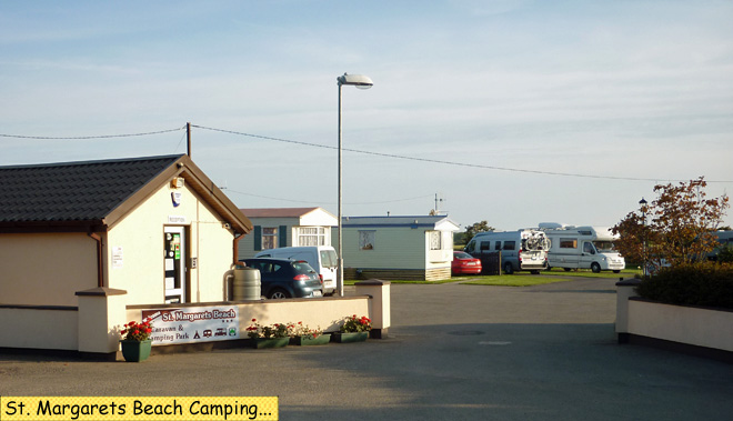 St. Margarets Beach Camping
