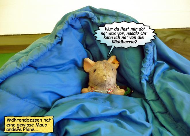 Pieps im Schlafsack