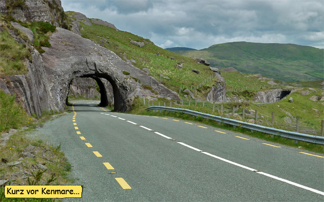 Tunnel Irland N71 Kenmare